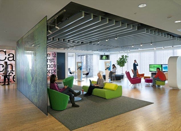 Workplace design and employee productivity for Office design productivity