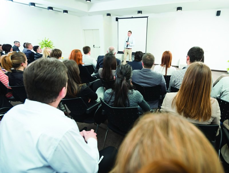 Training programmes by using internal sources