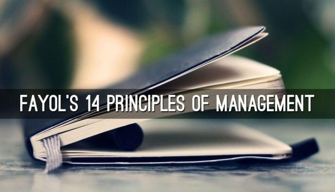 explanation of 14 principles of management henri fayol with examples