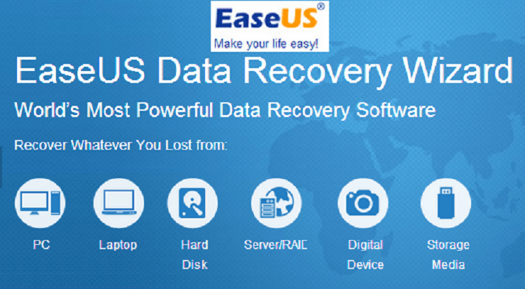 easeus formatted data recovery software
