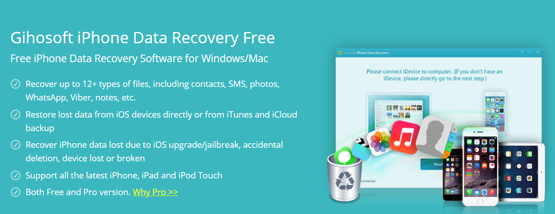 Gihosoft iPhone Data Recovery Review - MyVenturePad com